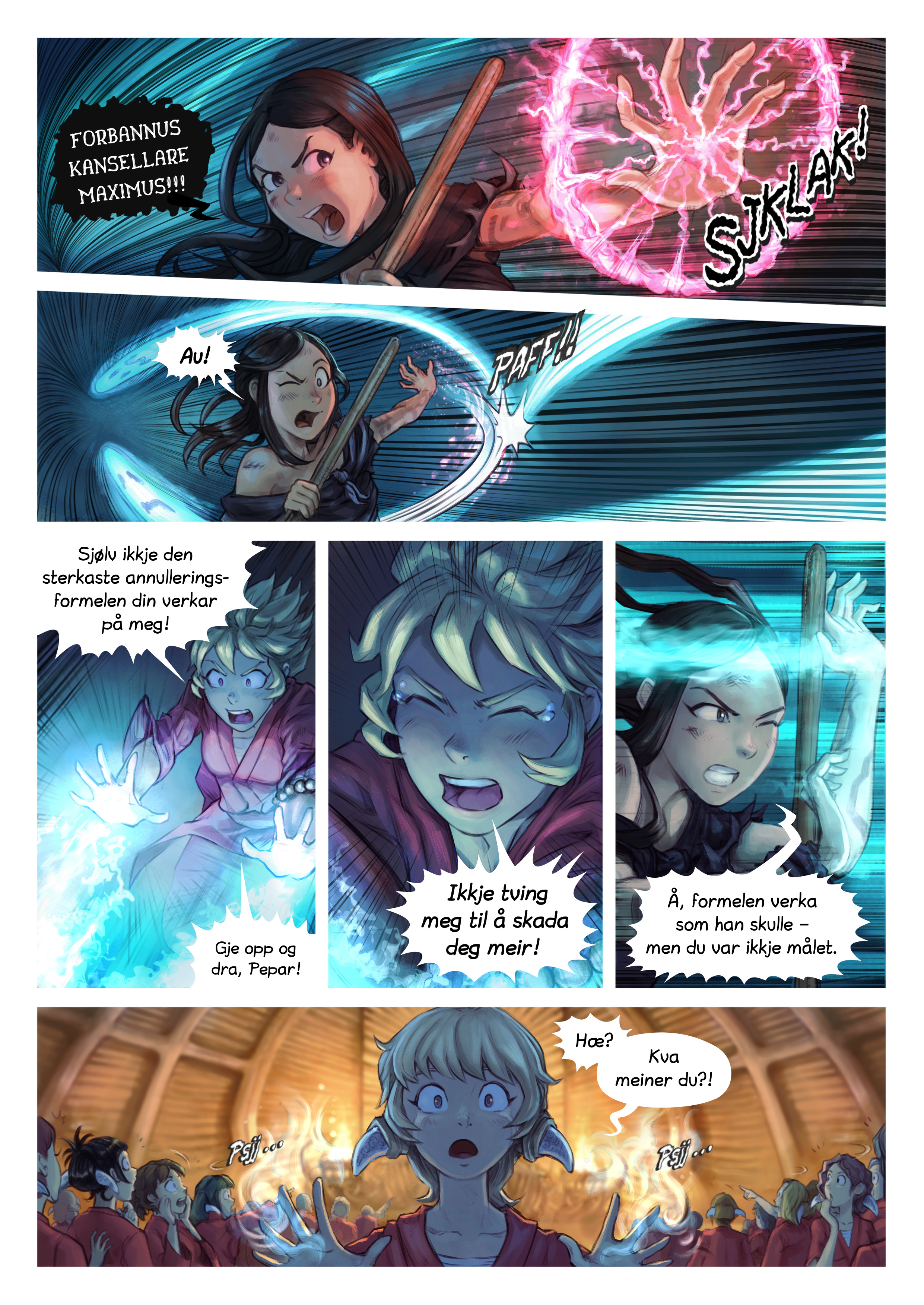 Episode 34: Riddarseremoni for Shichimi, Side 7
