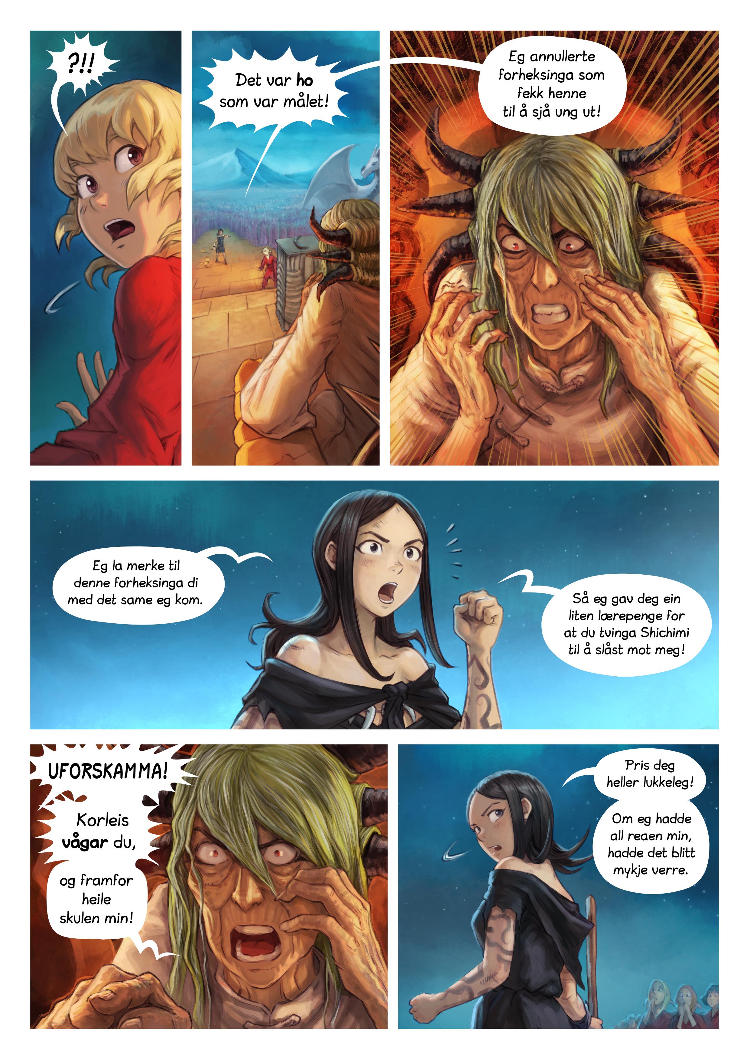 Episode 34: Riddarseremoni for Shichimi, Side 8