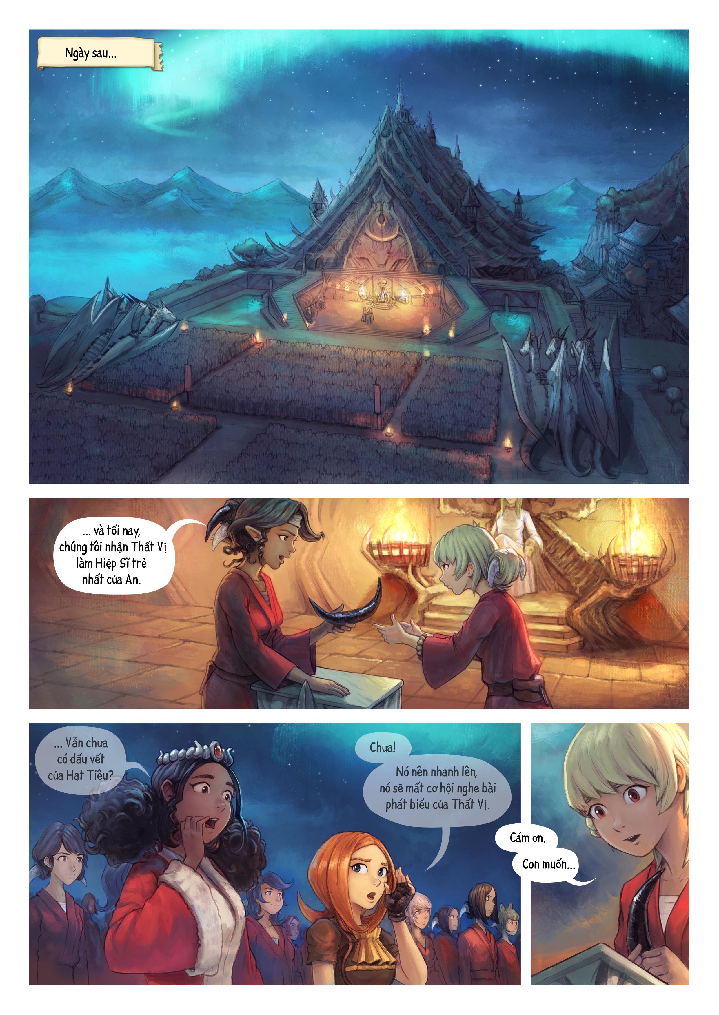 Tập 34: Thất Vị Nhậm Chức Hiệp Sĩ, Trang 1