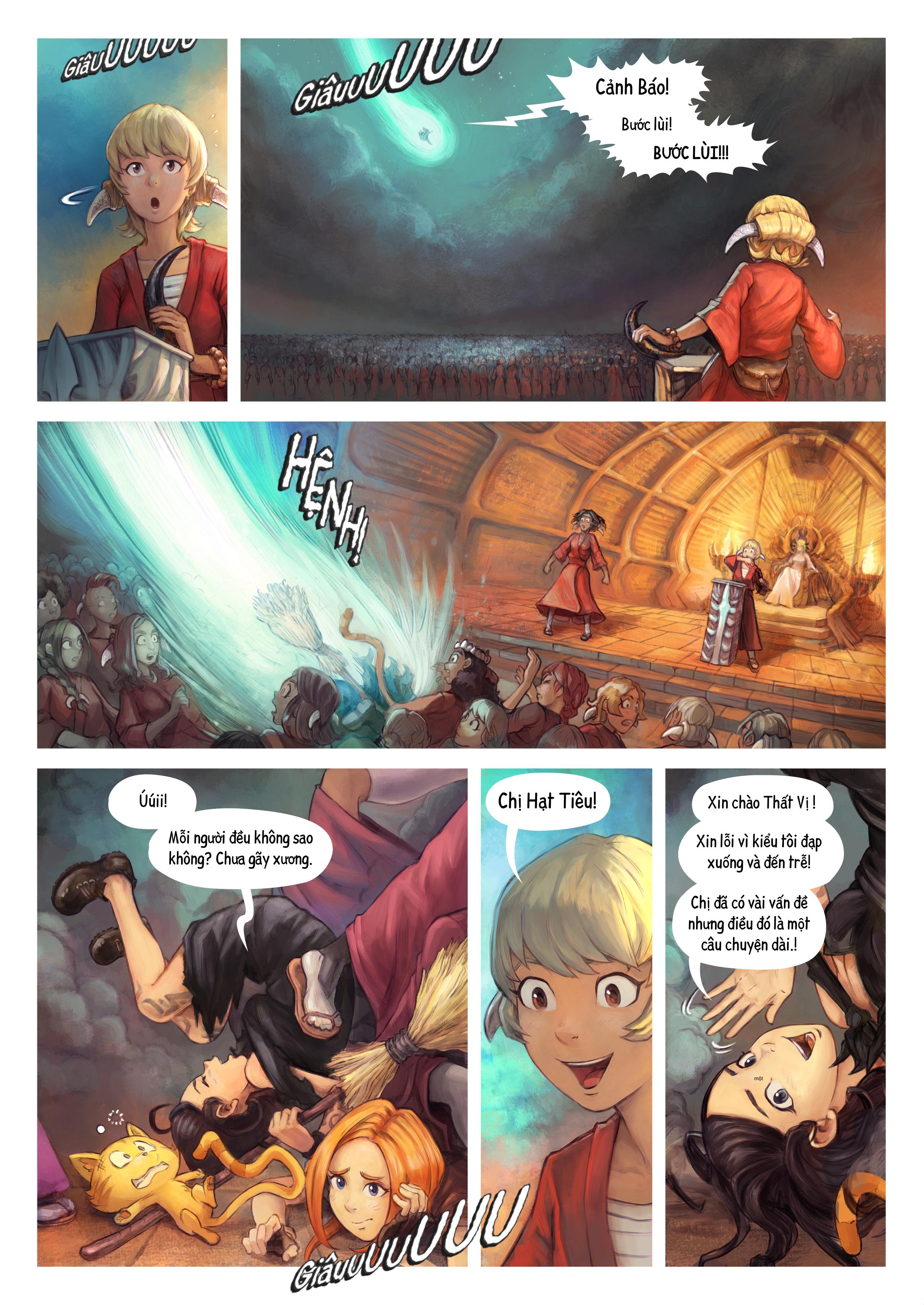 Tập 34: Thất Vị Nhậm Chức Hiệp Sĩ, Trang 2
