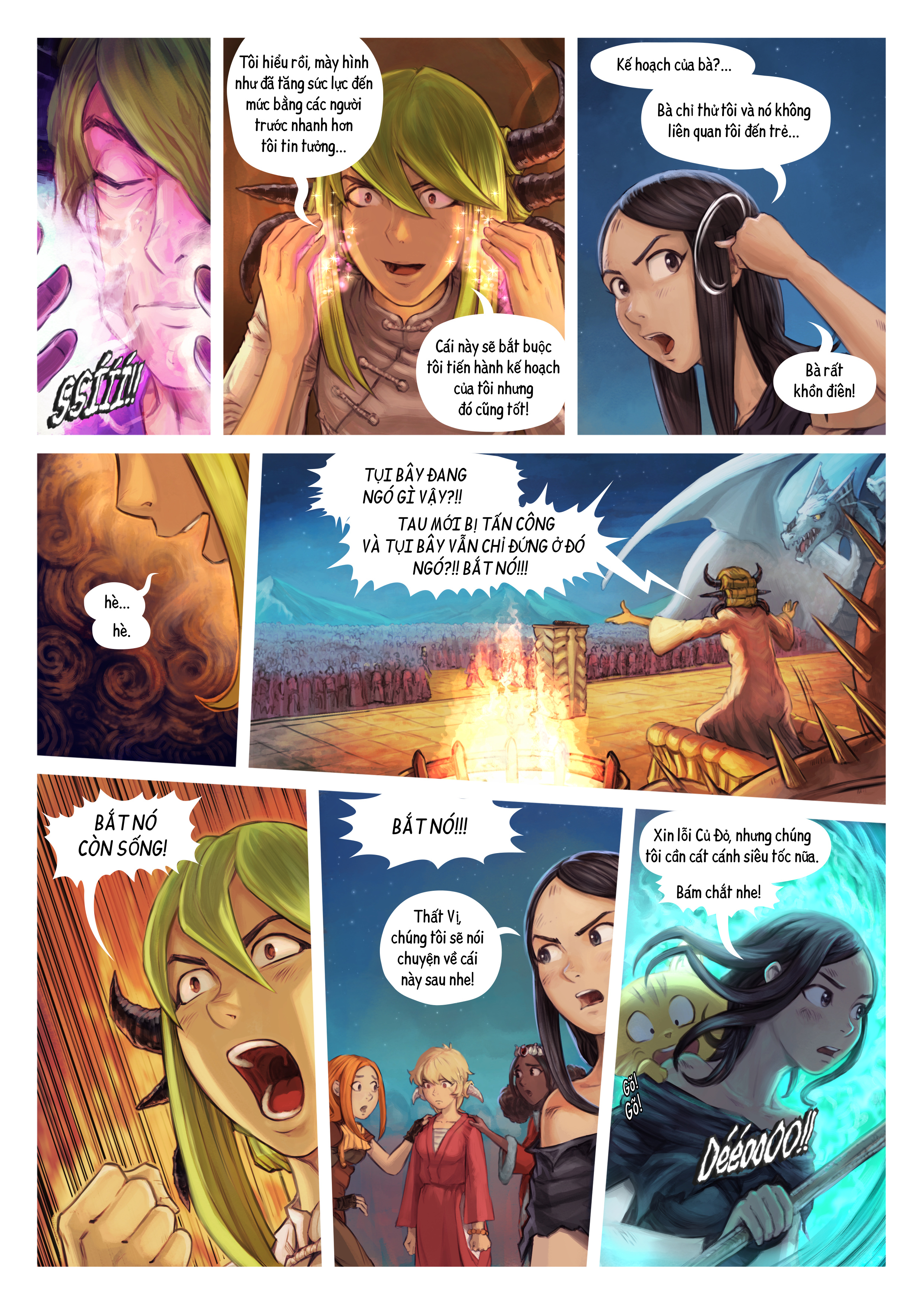 Tập 34: Thất Vị Nhậm Chức Hiệp Sĩ, Trang 9