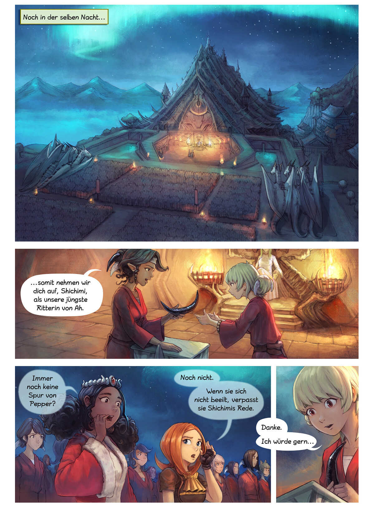 Episode 34: Shichimis Abschluss, Page 1