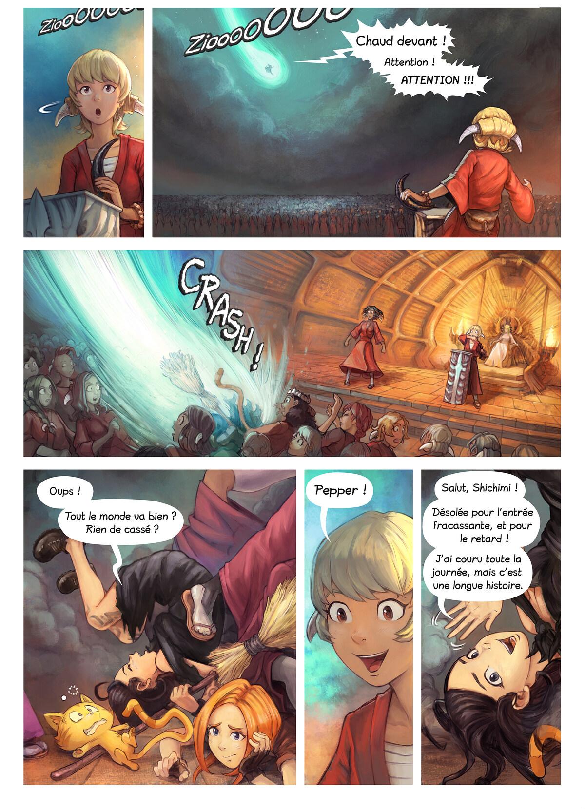 Épisode 34 : L'Adoubement de Shichimi, Page 2