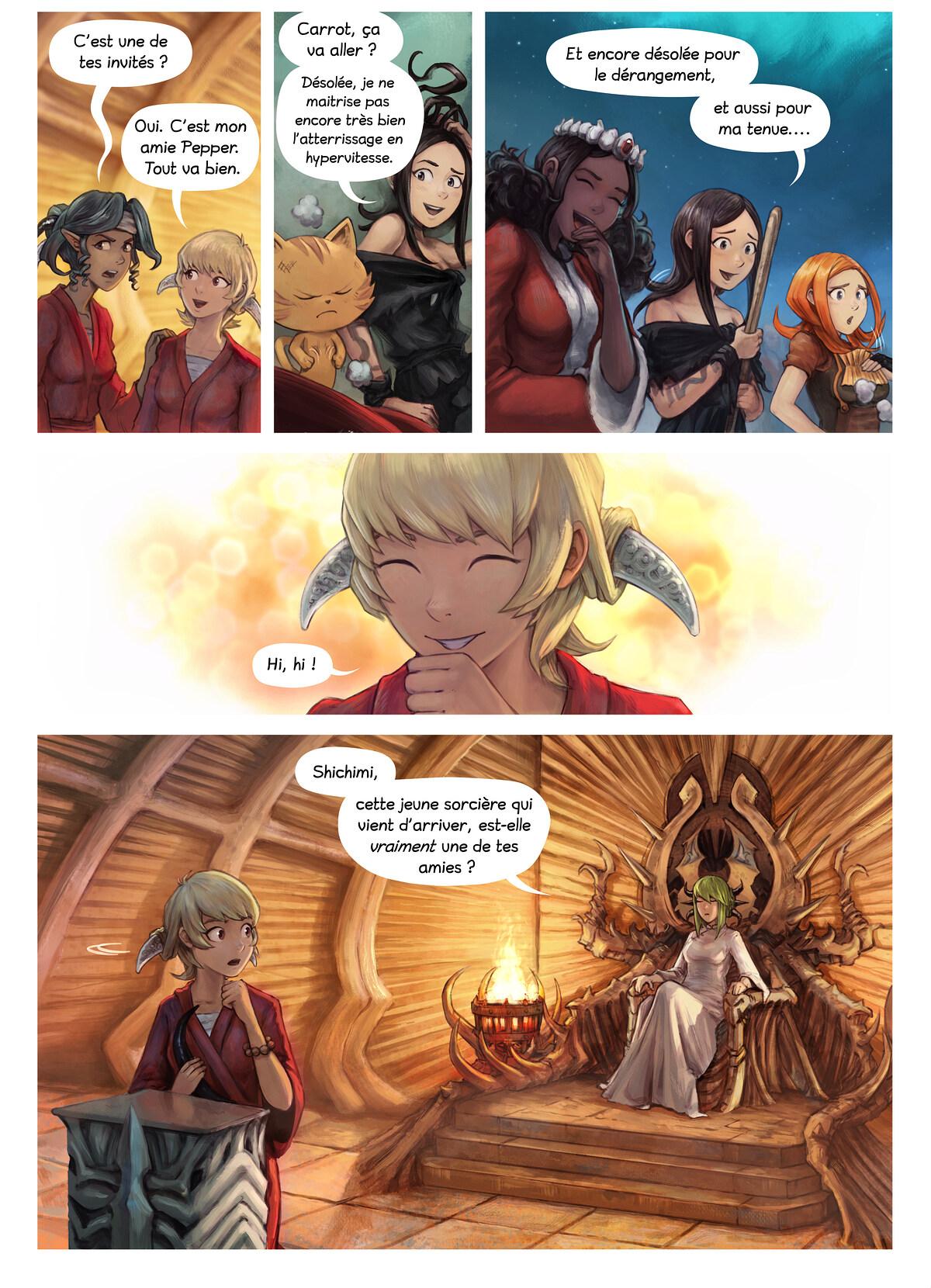Épisode 34 : L'Adoubement de Shichimi, Page 3
