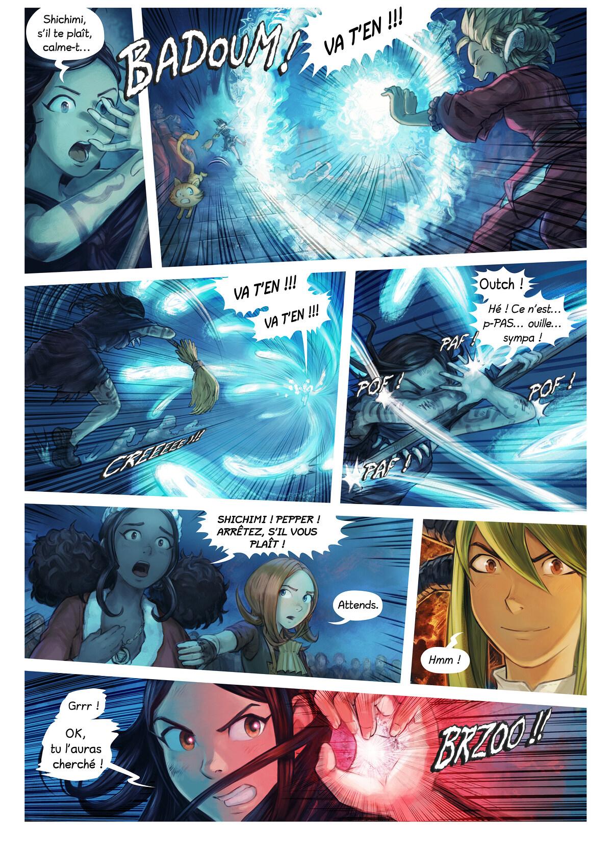 Épisode 34 : L'Adoubement de Shichimi, Page 6