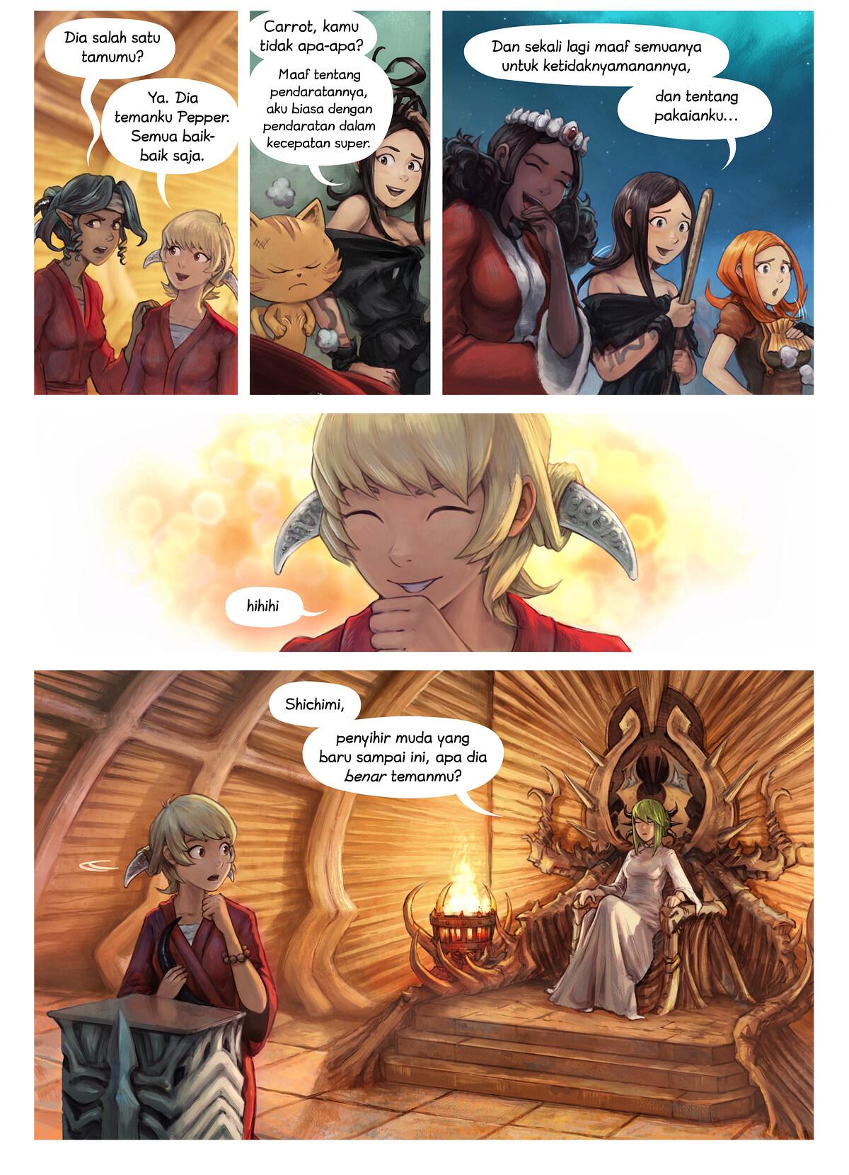 Episode 34: Pemberian Gelar Ksatria Shichimi, Page 3