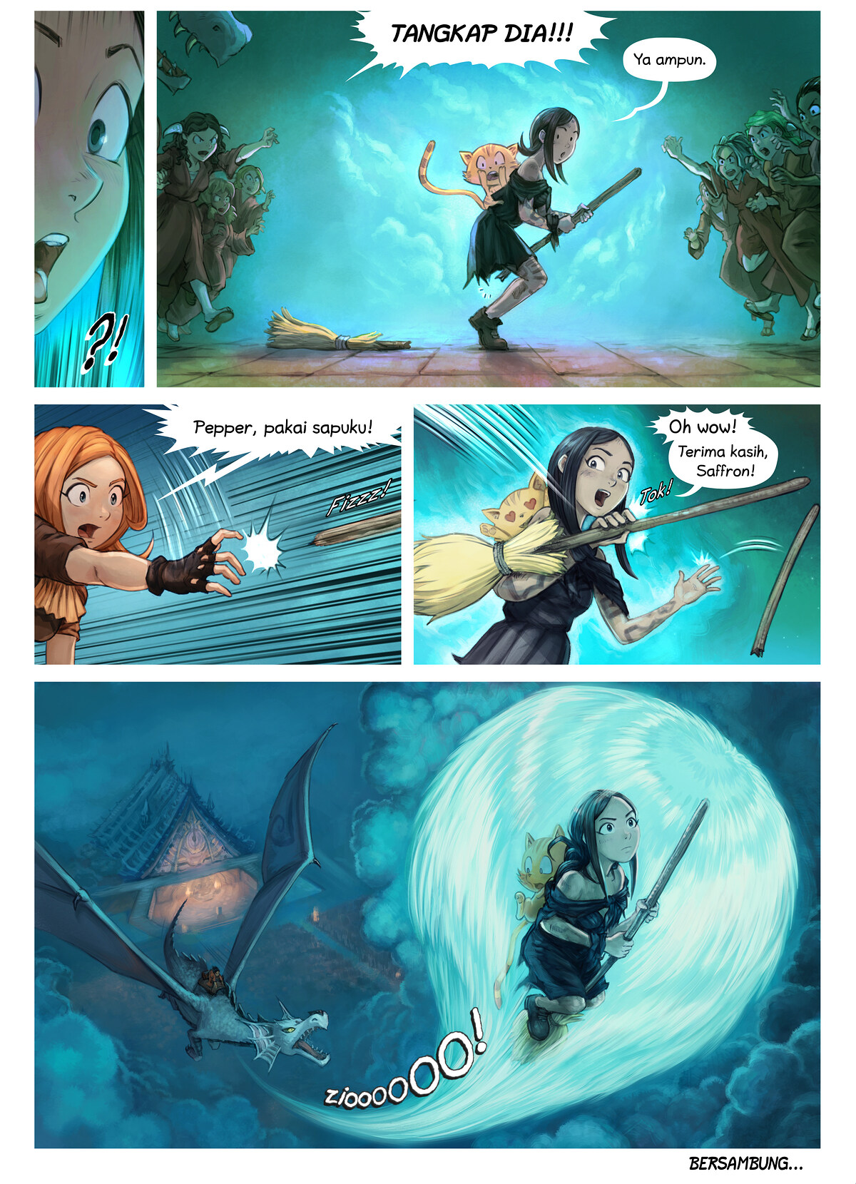 Episode 34: Pemberian Gelar Ksatria Shichimi, Page 10