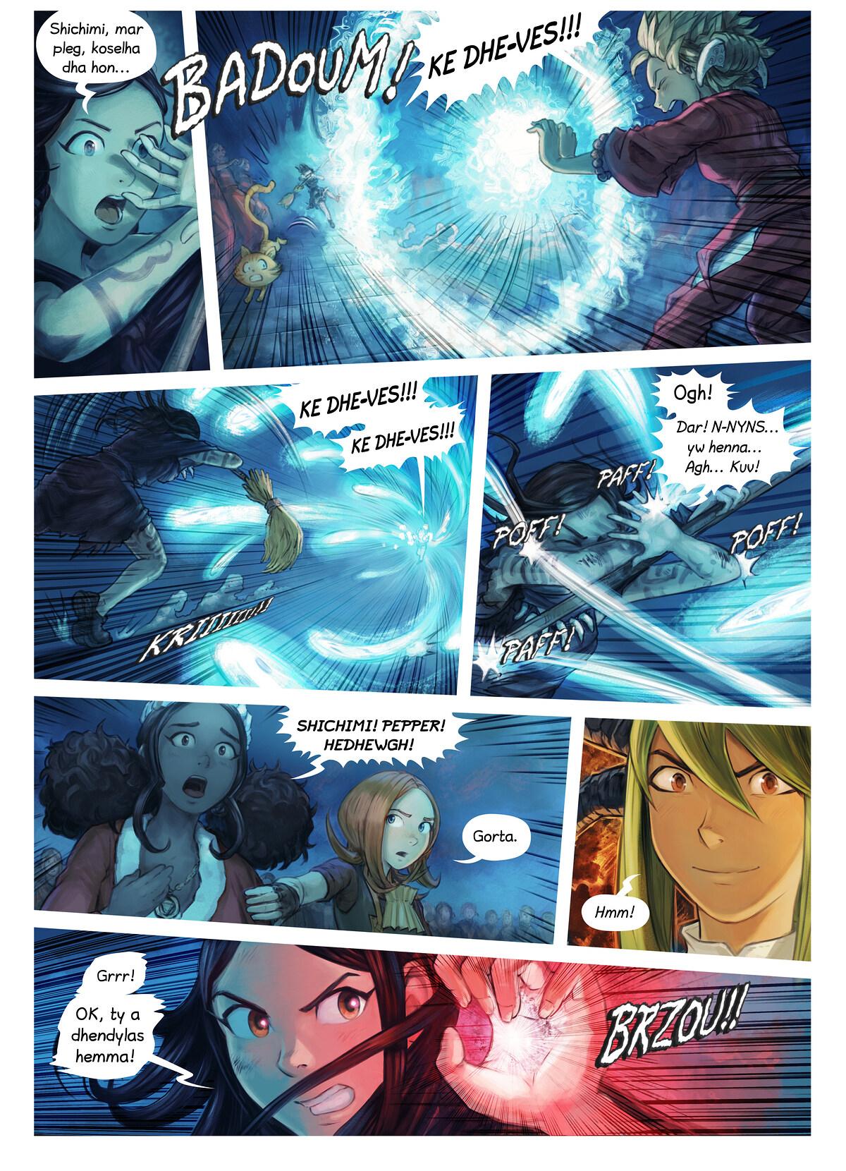Rann 34: Urdhyans Shichimi yn Marghogieth, Page 6