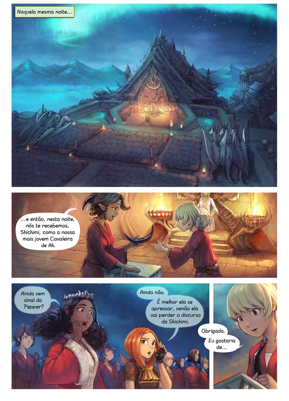 Episódio 34: A Condecoração da Cavaleira Shichimi, Page 1