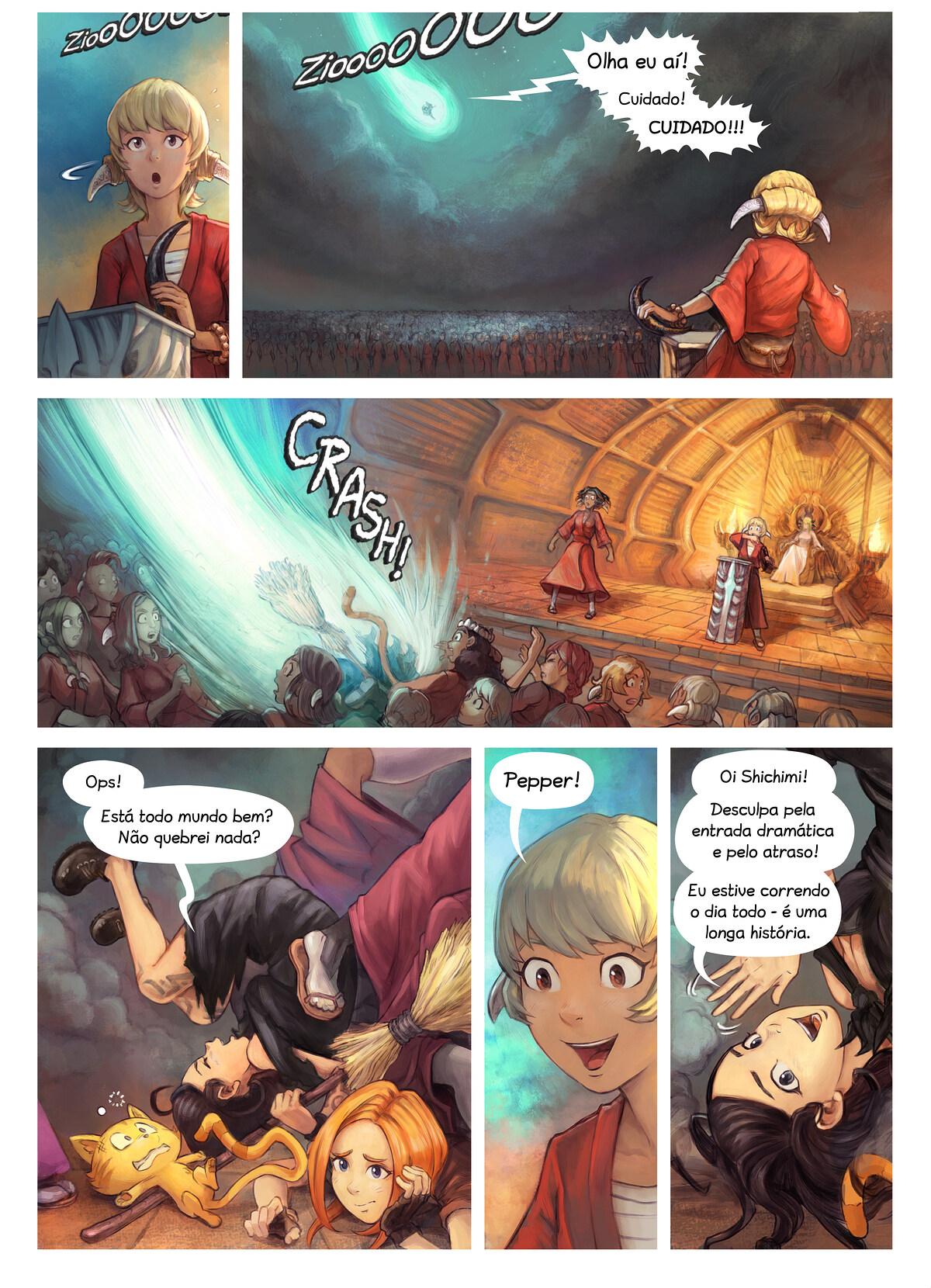 Episódio 34: A Condecoração da Cavaleira Shichimi, Page 2