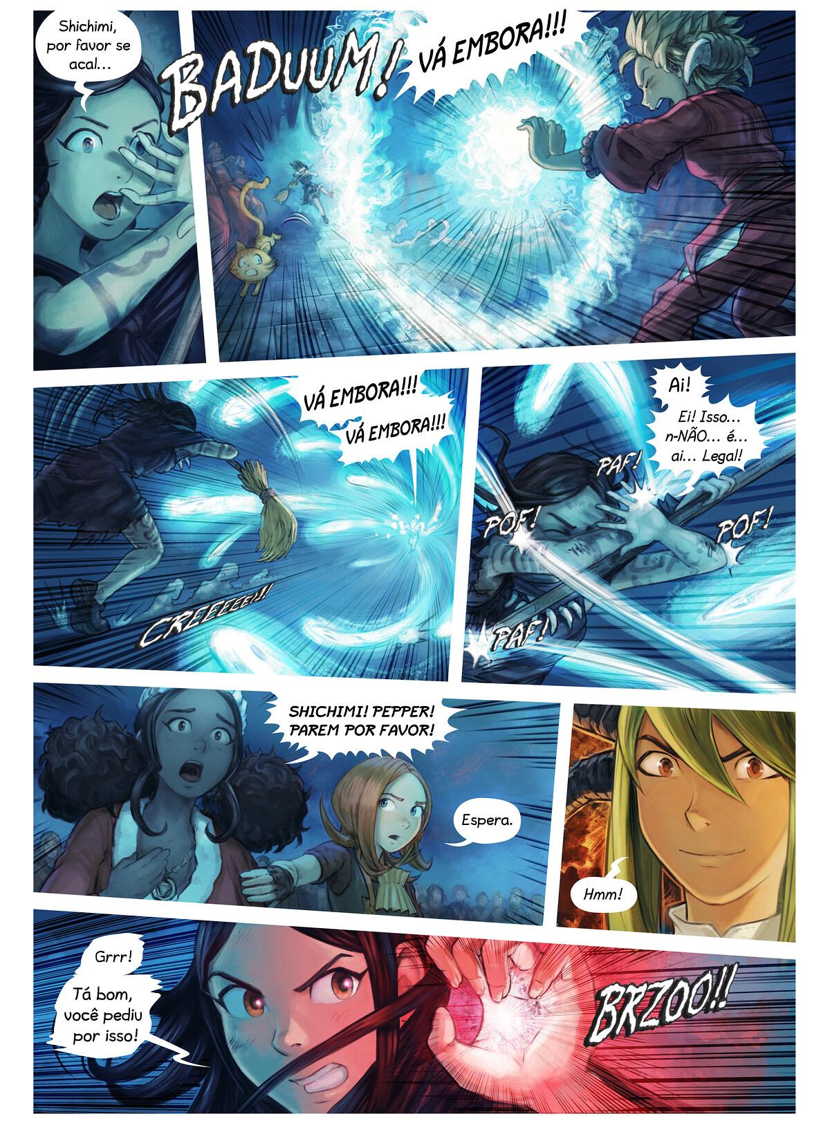 Episódio 34: A Condecoração da Cavaleira Shichimi, Page 6