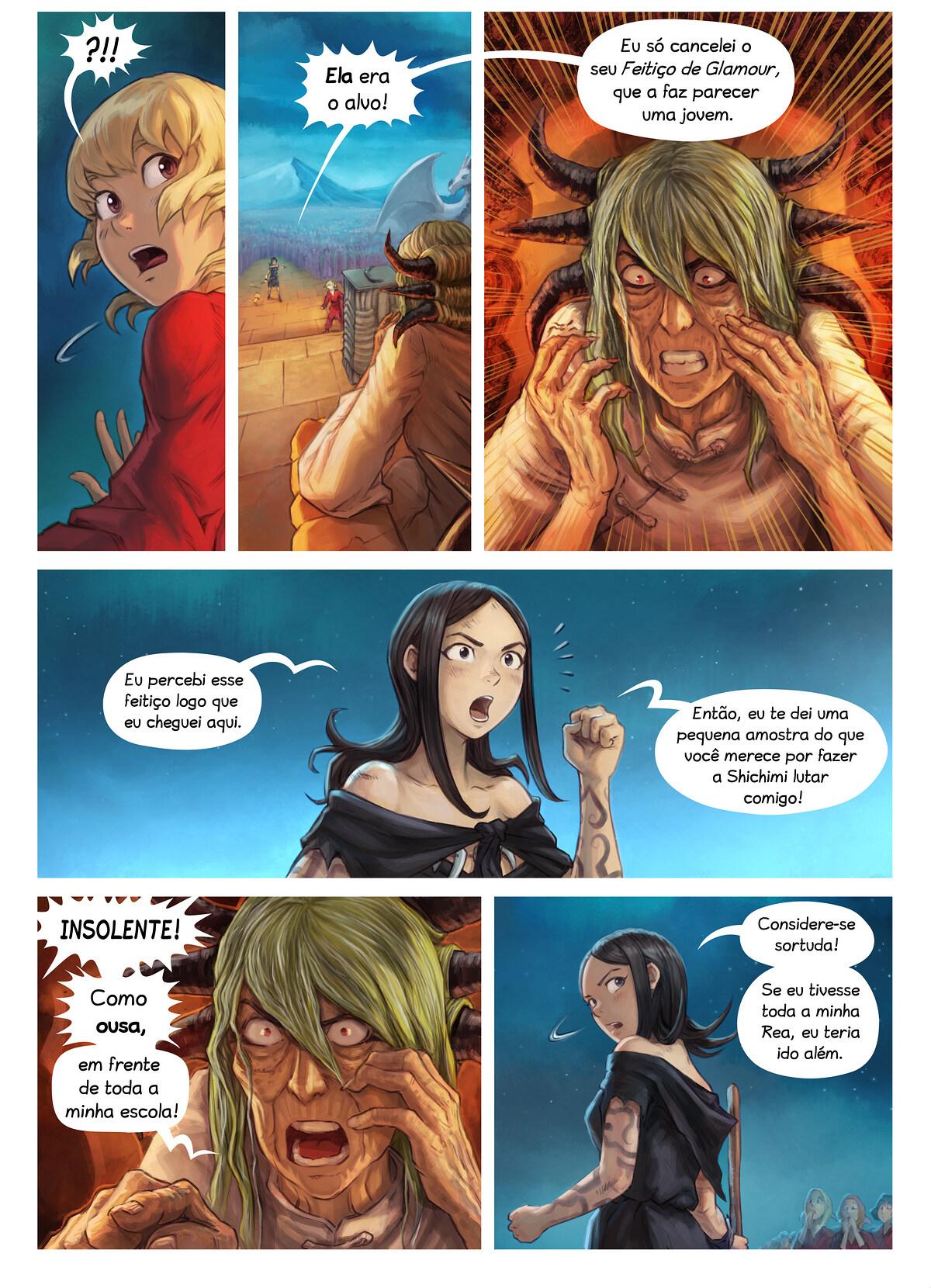 Episódio 34: A Condecoração da Cavaleira Shichimi, Page 8