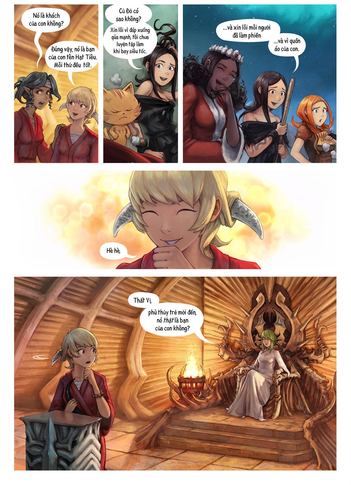 Tập 34: Thất Vị Nhậm Chức Hiệp Sĩ, Trang 3
