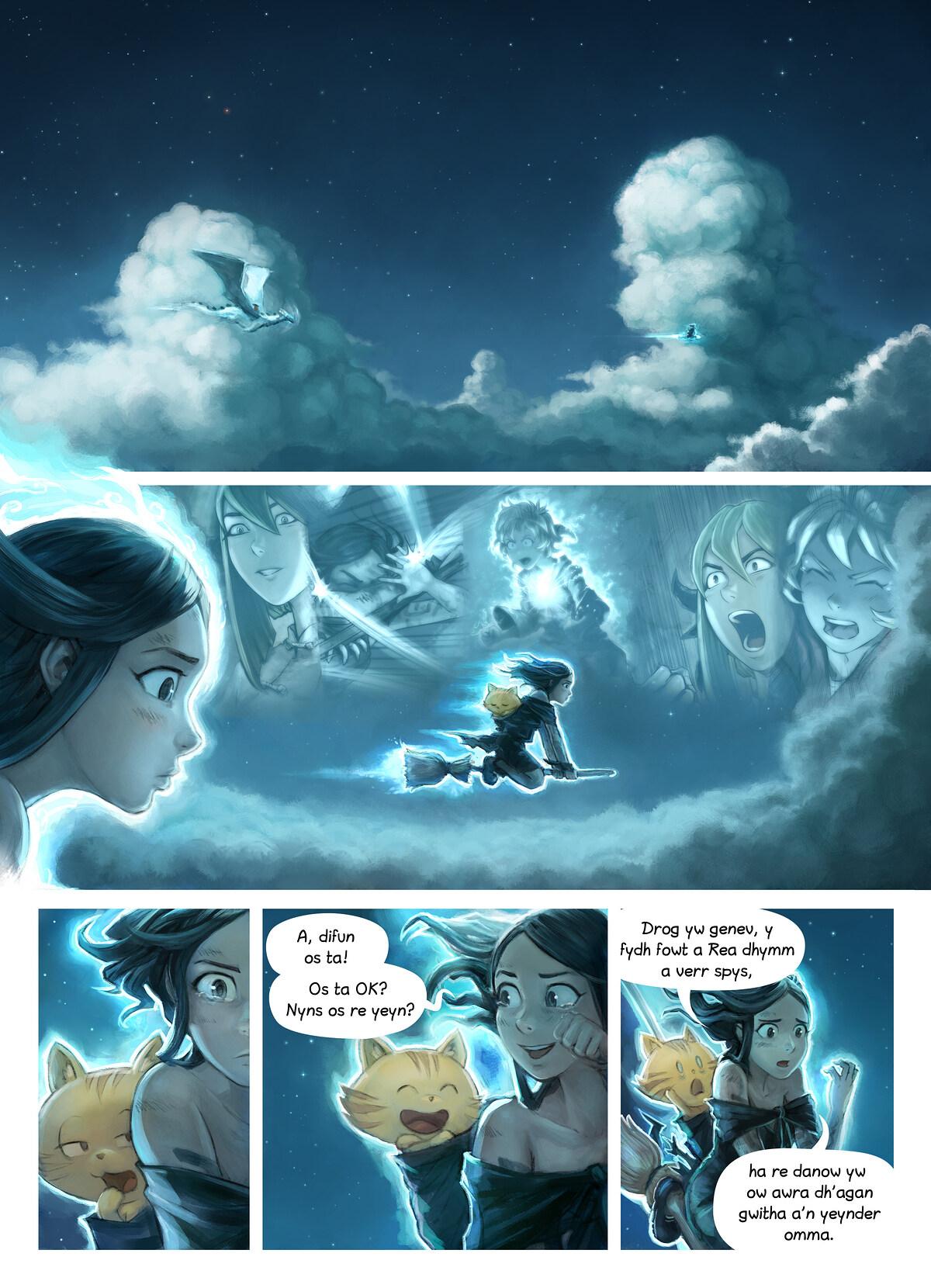 Rann 35: An Dastewynnyans, Page 1