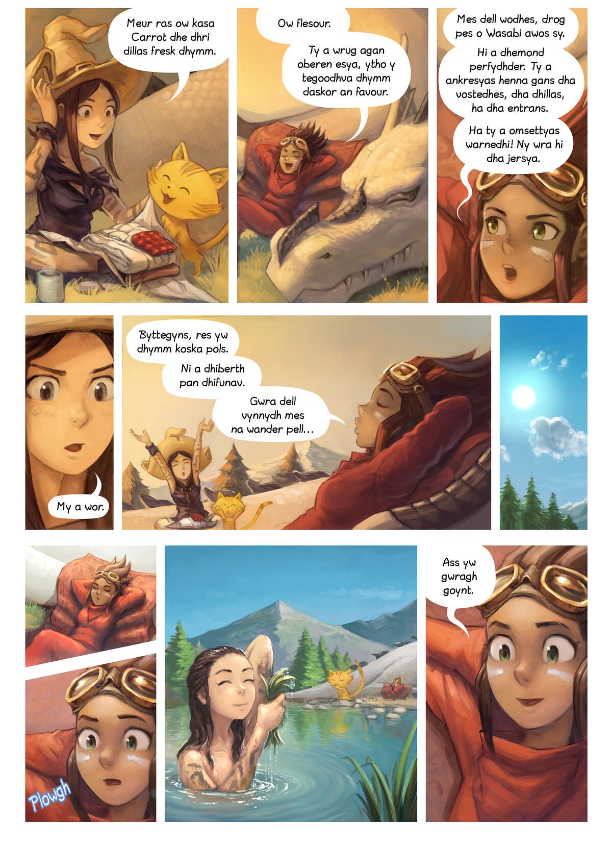 Rann 35: An Dastewynnyans, Page 11