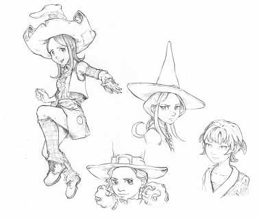 2015-07-12_character-design-sketches-coriander-shichimi-saffron_by-David-Revoy