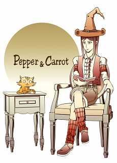2016-01-04_Pepper_and_Carrot_read_a_book_by-JRocky