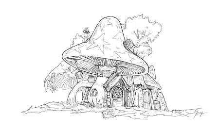 2019-03-12_mushroom-house_by-David-Revoy