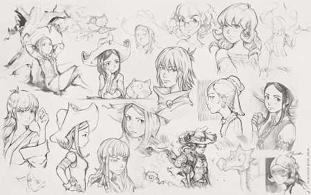 2019-09-18_sketches-collection_by-David-Revoy