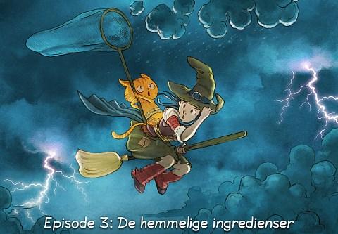 Episode 3: De hemmelige ingredienser (click to open the episode)