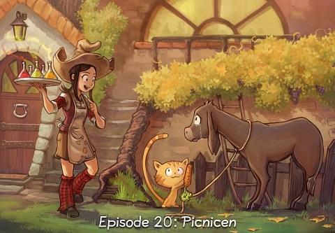 Episode 20: Picnicen (click to open the episode)