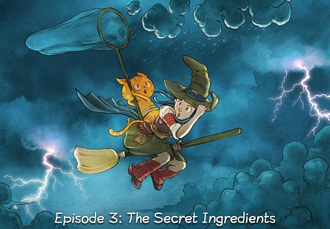 Episode 3: The Secret Ingredients (click to open the episode)