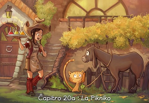 Ĉapitro 20a : La Pikniko (alklaku por malfermi la bildrakonton)