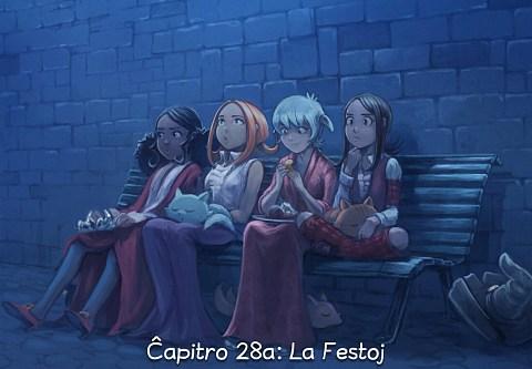 Ĉapitro 28a: La Festoj (alklaku por malfermi la bildrakonton)