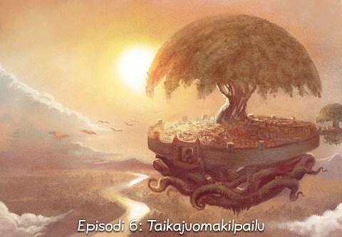 Episodi 6: Taikajuomakilpailu (click to open the episode)