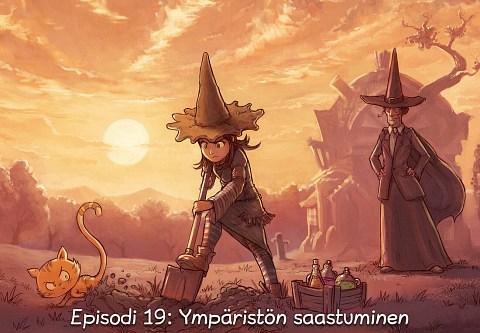 Episodi 19: Ympäristön saastuminen (click to open the episode)