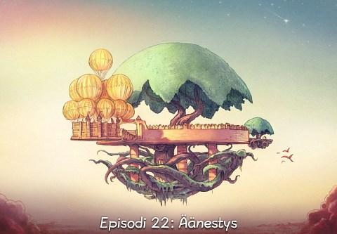 Episodi 22: Äänestys (click to open the episode)