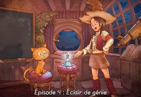 Épisode 4 : Éclair de génie ( cliquez pour ouvrir l'épisode )