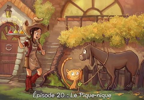 Épisode 20 : Le Pique-nique ( cliquez pour ouvrir l'épisode )