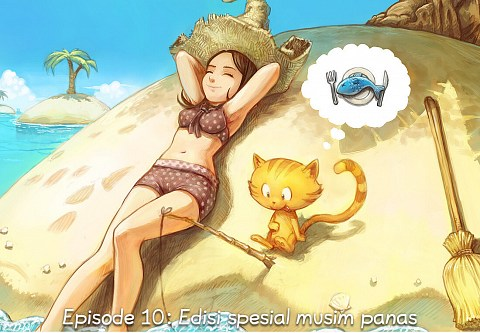 Episode 10: Edisi spesial musim panas (click to open the episode)