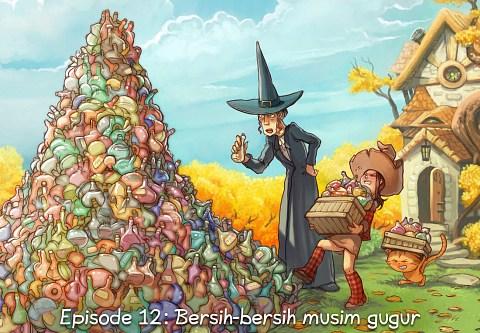 Episode 12: Bersih-bersih musim gugur (click to open the episode)