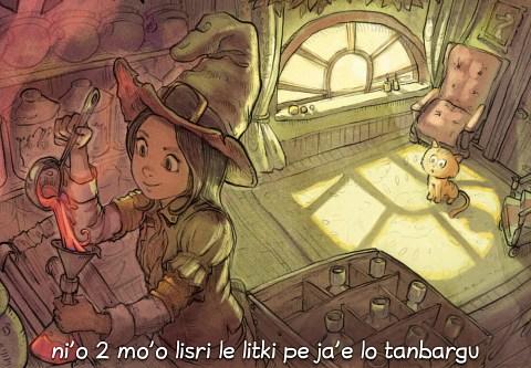 i 2 mo'o lisri le litki pe ja'e lo tanbargu (click to open the episode)