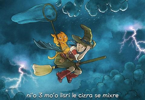 i 3 mo'o lisri le cizra se mixre (click to open the episode)