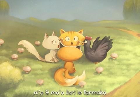 i 9 mo'o lisri le farmako (click to open the episode)