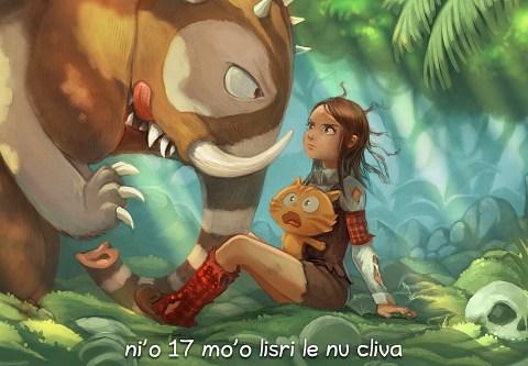 i 17 mo'o lisri le nu cliva (click to open the episode)