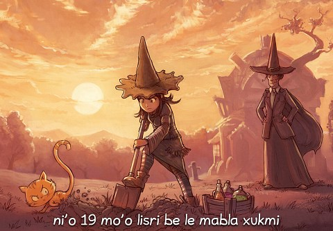 i 19 mo'o lisri be le mabla xukmi (click to open the episode)