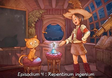 Episodium 4 : Repentinum ingenium (click to open the episode)