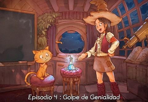 Episodio 4 : Golpe de Genialidad (click to open the episode)