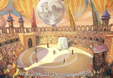 Aflevering 21: De magiewedstrijd (click to open the episode)