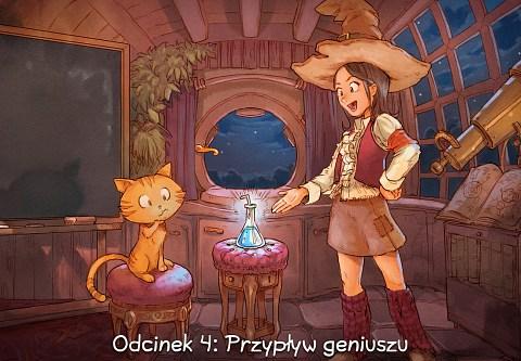 Odcinek 4: Przypływ geniuszu (click to open the episode)