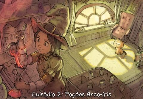Episódio 2: Poções Arco-íris (click to open the episode)