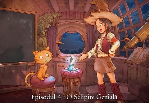 Episodul 4 : O Sclipire Genială (click to open the episode)