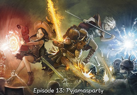 Episode 13: Pyjamasparty (click to open the episode)