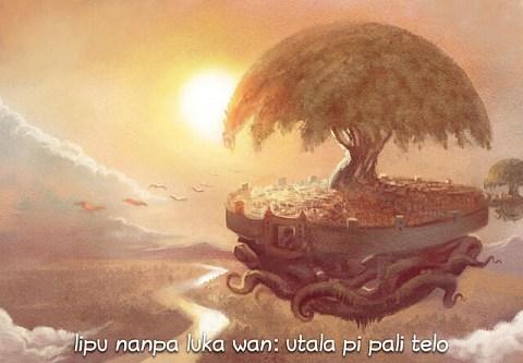 lipu nanpa luka wan: utala pi pali telo (sina wile lukin la, o luka e ni)