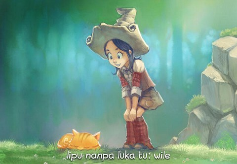 lipu nanpa luka tu: wile (sina wile lukin la, o luka e ni)