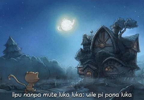 lipu nanpa mute luka luka: wile pi pona luka (sina wile lukin la, o luka e ni)